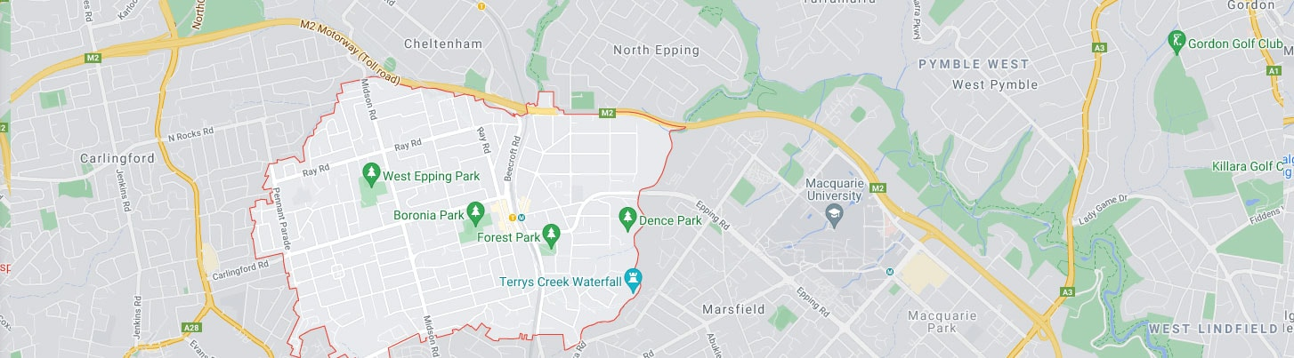 Epping Map Area