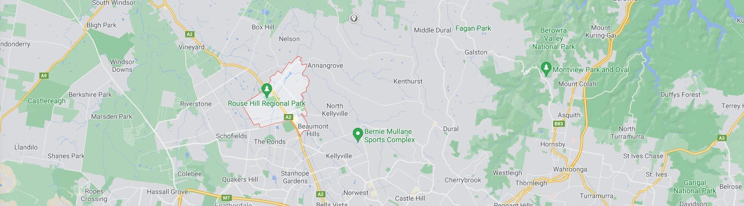 Rouse Hill Map Area